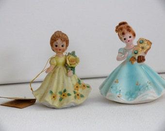 Two Josef Girl Figurines - Free Shipping