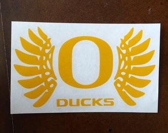 Oregon Ducks Decal