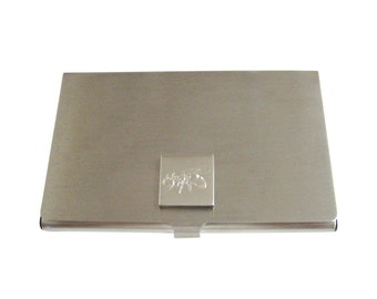 Engraved Bee Business Card Holder