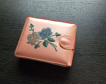 Peach Vinyl Aristocrat Wallet