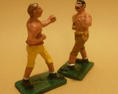 Bareknuckle Boxers 54/60mm cast metal toy soldiers