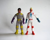 Retro Ghostbuster Action Figures, Egon and Winston, 1987, Columbia Pictures