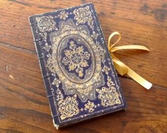 Ornate Keepsake Ring Box, Engagement Ring Idea, Unique Wedding Ring Holder, Custom Hollow Book, Secret Book Safe, Upcycled Antique Book
