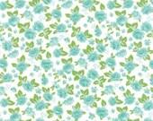 Custom order- Sew and Sew Floral Garden Whip Cream  by Chloe's Closet- Moda