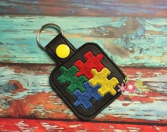 Autism Awareness Key Chain