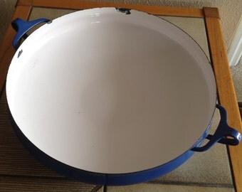 "Dansk Kobenstyle Lg Paella Pan Serving Dish Casserole Jens Quistgaard 60-70's Mid century Danish Modern  13.75"""