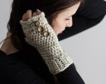 fingerless gloves, ivory fingerless gloves, crochet fingerless gloves, womens gloves, texting gloves, winter gloves, arm warmers,