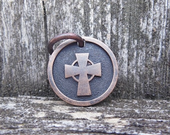 Bronze Celtic Cross Pendant (pre-order)