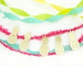 Glitter Pineapple Garland