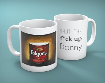 Mug of Donny Kerabatsos from The Big Lebowski