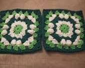 Top of the Morning Crochet Granny Square