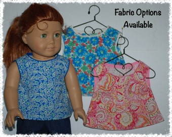 "Sleeveless Top 18"" Doll (American Girl 18"" Doll)"