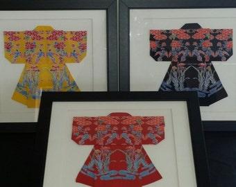 Cotton Origami Kimono