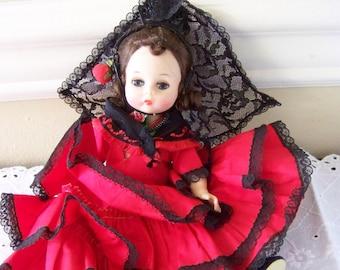 vintage Spain 1982 Madame Alexander 8 inch doll