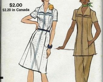 ON SALE Vogue 8291 Half Size Women's Dress or Tunic And Pants Pattern, Size 18 1/2, Uncut