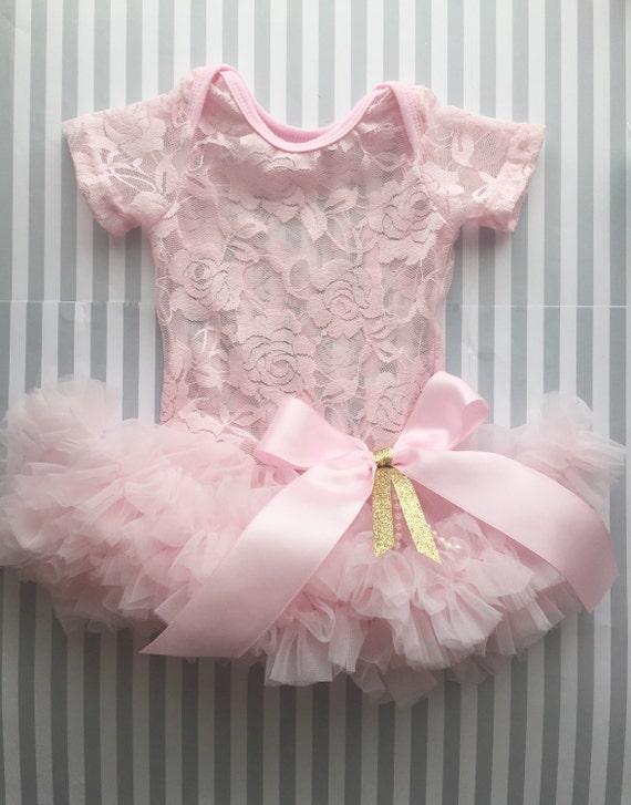 Girls tutu baby tutu dress 1st birthday tutu dress pink tutu