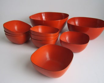 Set of Catherineholm Bowls - Tivoli Line