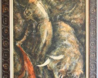 Matador Painting  by Dietrich Grunewald
