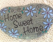 Holly's Happy Rock - Home Sweet Home
