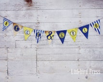 Printable Blue and Gold Cub Scout Banner - Blue and Gold Banquet - Cub Scout Banner - Pack Meeting  - Instant Download - PDF