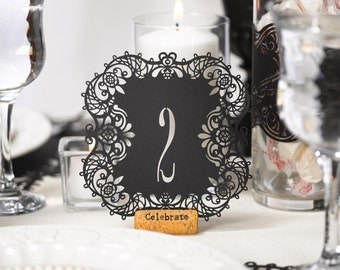 Table Numbers, Wedding Table Numbers, Events Table Numbers, Reception Table  Numbers
