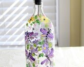 Hand Painted Dragonfly Soap, Oil or Vinegar Dispenser