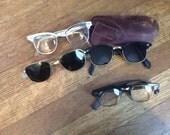Vintage Eyeglasses / 1950's Eyeglasses / Lot of 4
