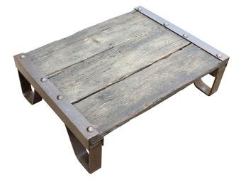 Vintage Industrial Mini Pallet Coffee Table