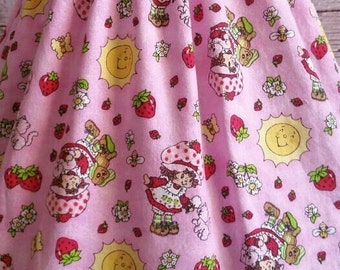 6-12M Strawberry Shortcake Maxi Dress, Strawberry Shortcake Dress, Simple Dress, Toddler Dress, Girls Dresses, Maxi Dress