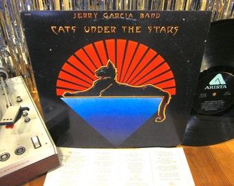 Jerry Garcia - Cats Under The Stars - 1978 - w/ Lyric Sleeve - Grateful Dead - Country Rock - Deadhead