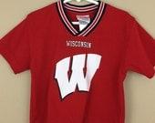 Vintage 1990s Wisconsin Badgers Jersey - Children, Toddler, Baby