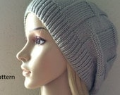 PDF Pattern, How To Knit A Beanie