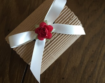 Kraft Weddinf Favor Box