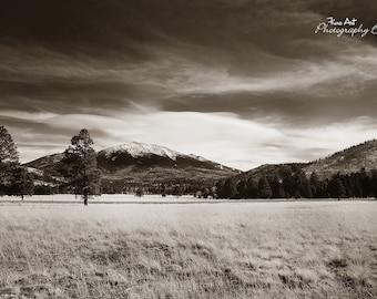 San Francisco Peaks- Flagstaff AZ- Original Landscape photograph very high quality. Arizona Photo