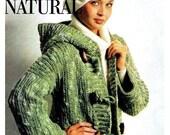 Crochet Pattern, Hooded Coat PDF Pattern, Crochet Jacket Pattern, Crochet Instant Download Pattern