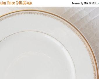 On Sale Vintage French Limoge Salad/Dessert Plates, Set of 4, Wedding Decor