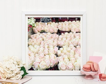 London Floral Photography print