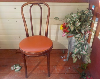 Thonet Bent Wood Ice Cream  Polar Chair Made in the USA :)S