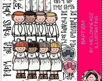 Baptism clip art - COMBO PACK - LDS / Mormon