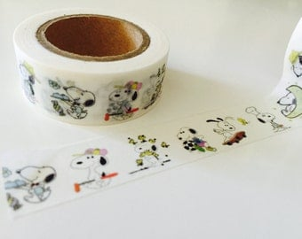 Snoopy Washi Tape