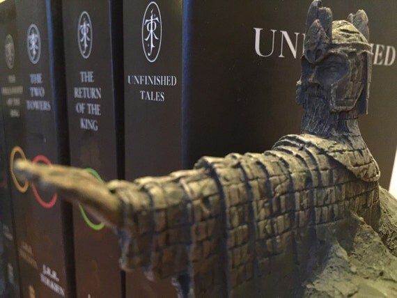 Lord of the rings the argonath bookends mary maclachlan - Lord of the rings bookends ...