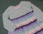 Baby Dress christmas dress holiday dress baby girl dress - christmas dress - size 3T - in stock
