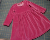 Baby Dress Toddler dress Play dress - Rose - size 2T - in stock
