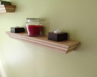 Floating Shelf -Reclaimed Wood