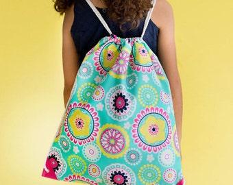 Monogrammed Gym Bag, Monogrammed Drawstring Bag, Monogrammed Sports Bag