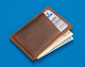 Wallet, Minimalist Wallet, Front Pocket Wallet, Men's Leather Wallet, Mens Wallets