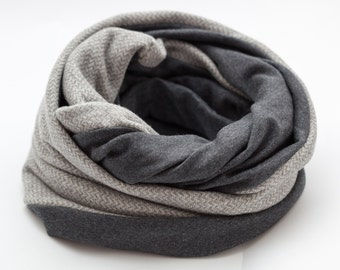 Infinity Scarf, mens scarf, Gift For Him