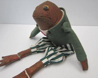 MR. JEREMY FISHER - Jeremy Fisher Frog Doll - Beatrix Potter Figurine