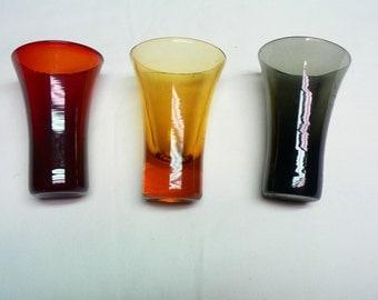 3 Shot Glasses Godinger Silver Art Co.