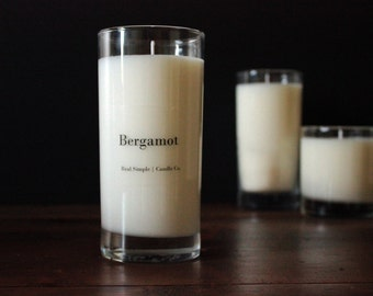 Bergamot Soy Candle | 15 oz | 100% Natural